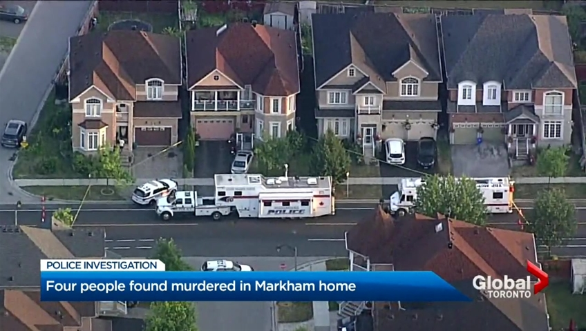 Markham man charged with 4 counts of first-degree murder after allegedly  killing family
