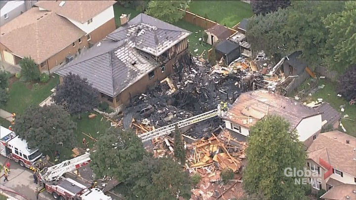 1 dead, 1 critically injured after house explosion in Kitchener | Watch  News Videos Online