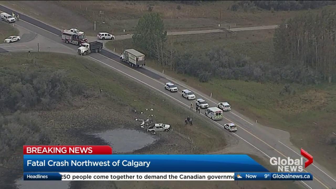 Fatal crash near Cochrane