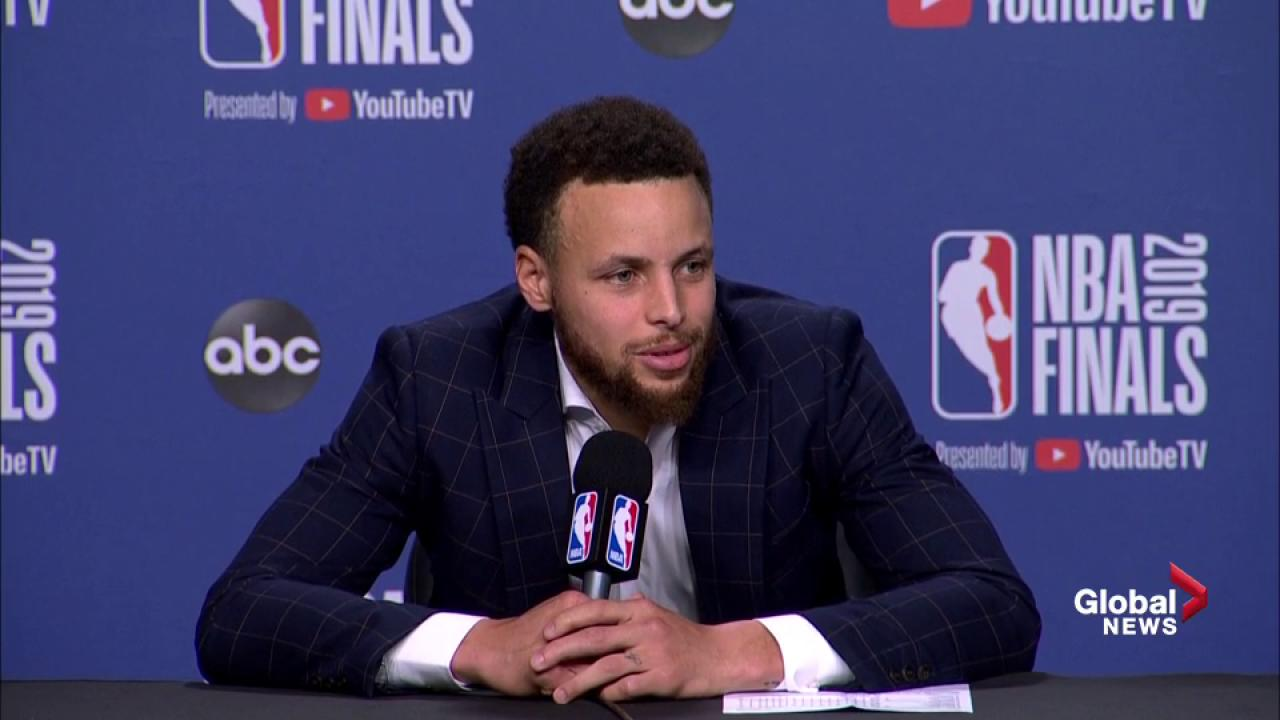 NBA Finals: Curry says he's 'confused' about Toronto fans reaction to  Durant injury
