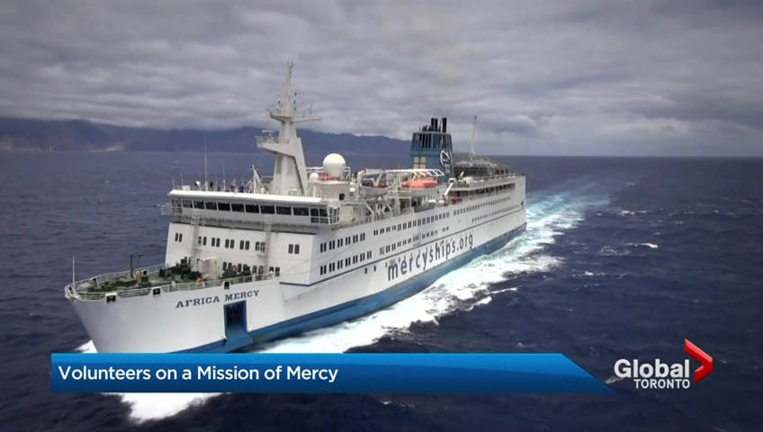 Hospital ship docked in west africa transforming lives around the hospital ship docked in west africa transforming lives around the world watch news videos online stopboris Image collections