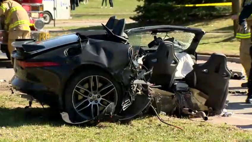 Two People Rushed To Hospital After Single Vehicle Crash In Richmond