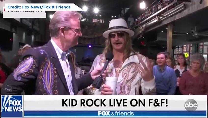 545749d40d14d Kid Rock calls  The View  co-host Joy Behar a  bitch  in Fox interview