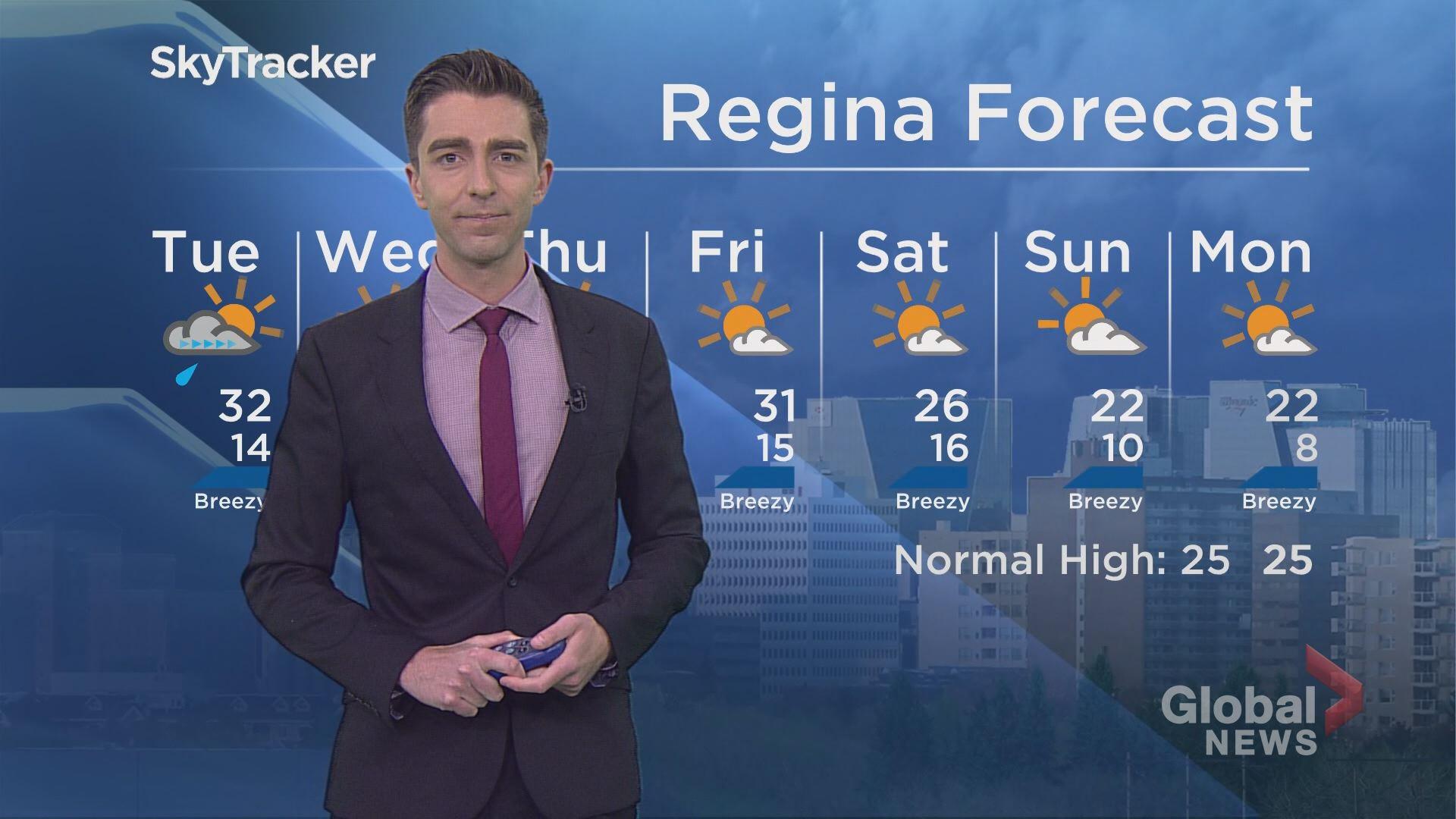 Global Regina Weather July 9, 2018 | Watch News Videos Online