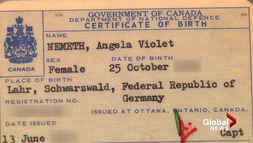 Calgary Womans Canadian Birth Certificate Not Recognized As Proof