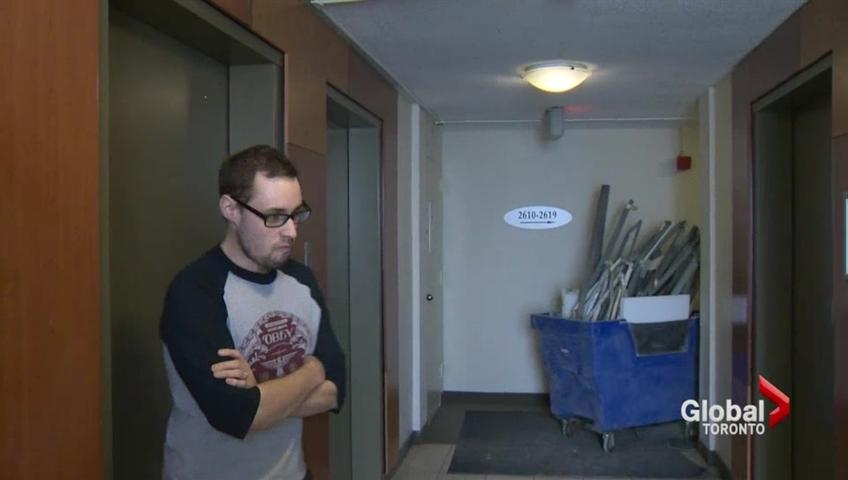 Erskine Apartment Building Tenants Threaten Action After Noise Complaints Watch News Videos Online