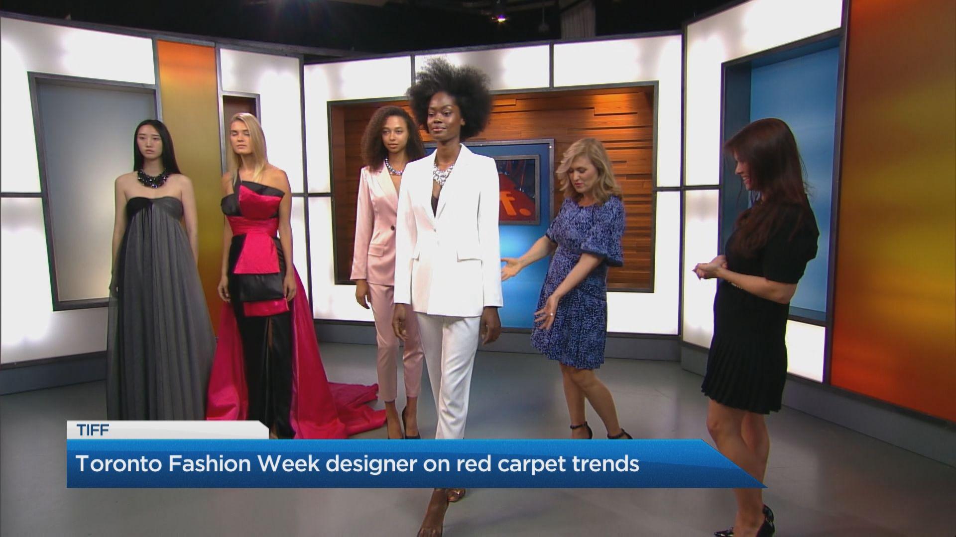 Designer Jordan Stewart S Top Tiff Looks Watch News Videos Online