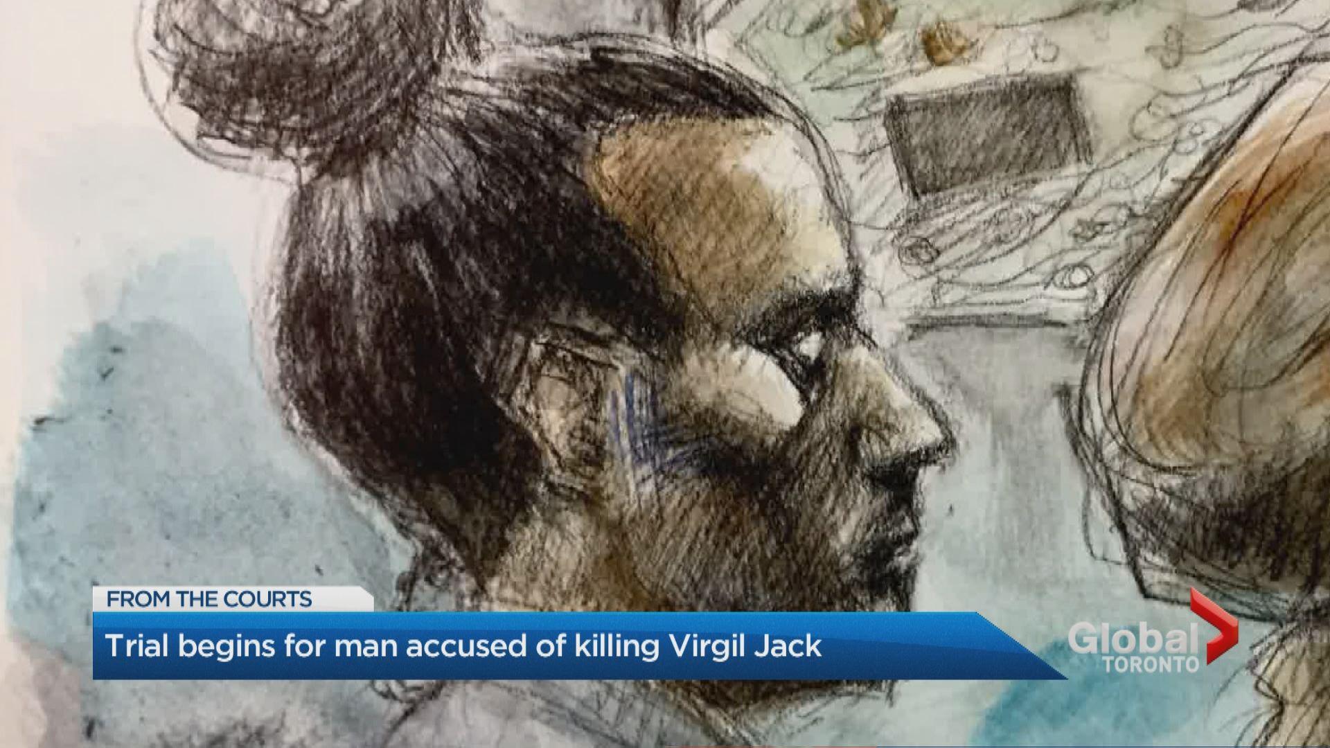 Trial for Nicholas Johnson, accused of 2nd-degree murder of Virgil Jack,  begins