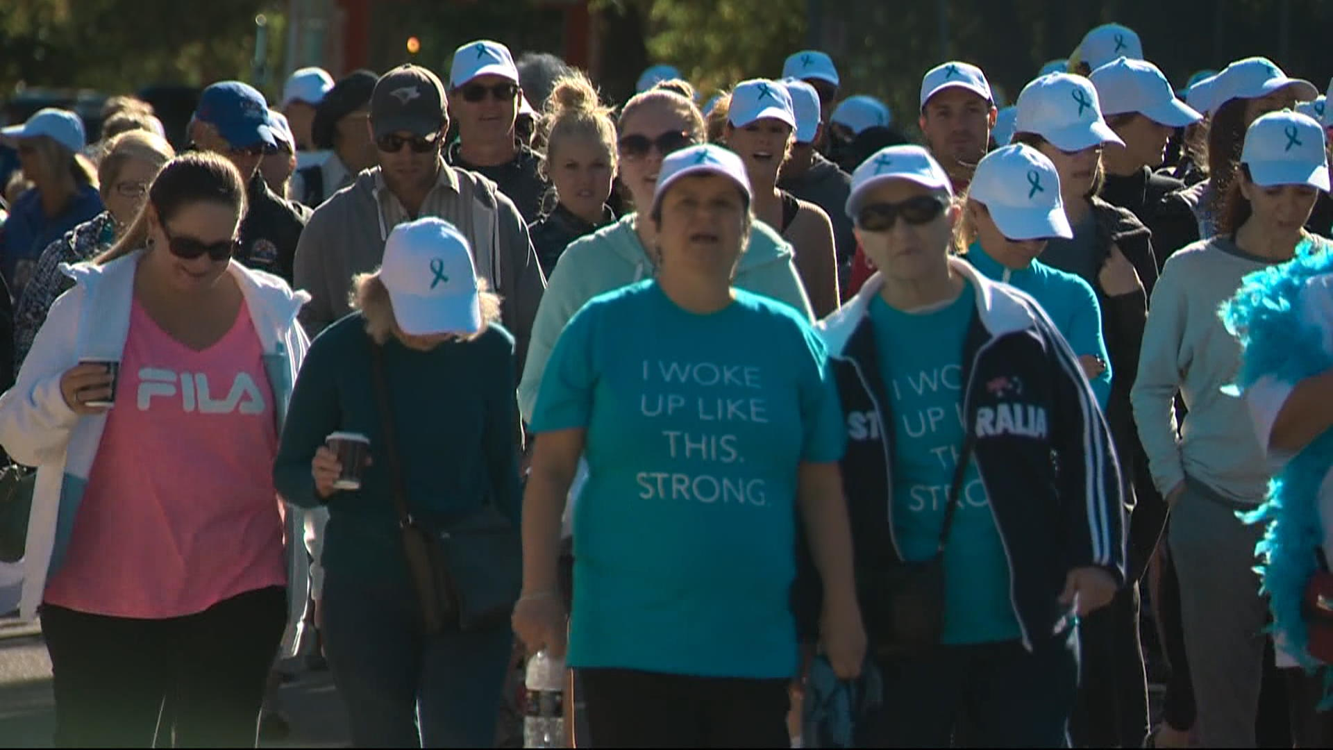 Walk In Saskatoon Supports Women With Ovarian Cancer Watch News Videos Online